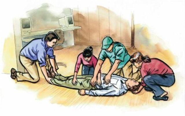 Cách xử lý kịp thời cho nạn nhân bị ngạt khói khi hỏa hoạn (2)