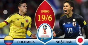 Soi kèo World Cup Colombia vs Nhật Bản, 19h00 ngày 19/06 – Vòng bảng G 1