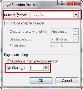 Cách đánh số trang trong word 2013
